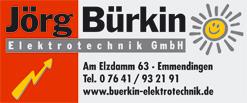 Jörg Bürkin Elektrotechnik GmbH, Emmendingen